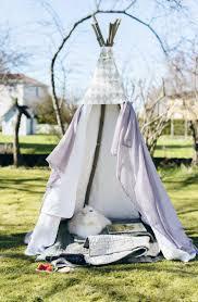 small diy no sew outdoor teepee to make gardenoholic