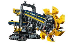 lego technic lego technic wheel excavator 42055 toys character