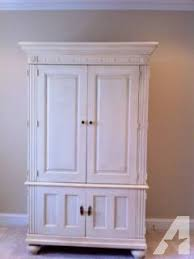 furniture computer armoire computer armoire by furniture like brand new for sale