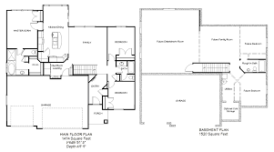 rambler floor plans 3 bedroom rambler floor plans menards home