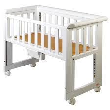 Bed Side Cribs Troll Bedside Crib White Cosleeper Pinterest Bedside