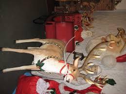 santa reindeer u0026 38 jumbo sleigh jr 120025 24 the jolly