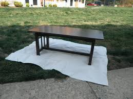 coffee table to front porch bench all in a huff