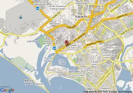 map of karachi map of karachi sheraton hotel and towers karachi