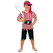 Pirate Halloween Costume Kids Pirate Boy Toddler Costume Bristol Novelty Amazon Uk Toys