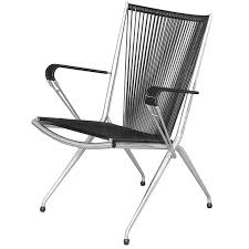 pair of folding armchairs by andre monpoix for meubles tv for