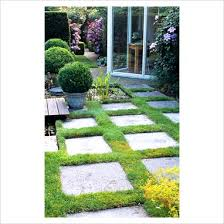 Laying Patio Slabs On Grass Gap Photos Garden U0026 Plant Picture Library Paving Slabs And