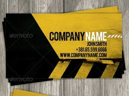 30 best 25 construction business card template psd and indesign