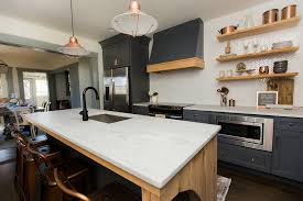 light gray kitchen cabinets with marble countertops kitchen remodel alabama white marble surface one