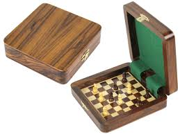 square board inside magnetic chess set 5 chess by india