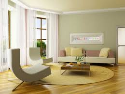 affordable living room color schemes with white stained wall color