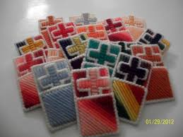 cross in a pocket in plastic canvas craft group ideas