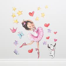 ballerina wall stickers my 1st years ballerina wall stickers