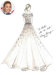 design wedding dress photo pipes wedding dress sketch pipes the originals