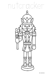 nutcracker coloring pages coloring page
