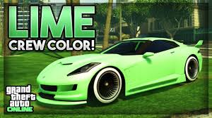 Color Image Online by Gta 5 Online New Rare Modded Crew Color 55
