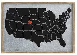 us map framed framed magnetic us map united states of american map vintage