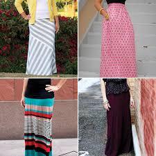 pattern for simple long skirt maxi skirt tutorials