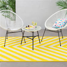Outdoor Chevron Rug Outdoor Rug Chevron Print Yellow Kmart Outdoor Living