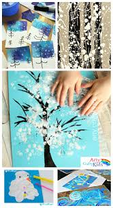 14 wonderful winter art projects for kids arty crafty kids