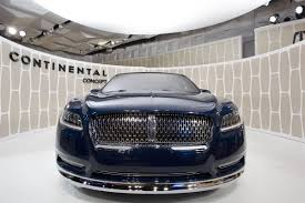 Lincoln Continental Matrix Ford Revives The Lincoln Continental Aiming For U S China Nbc
