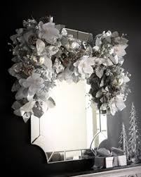 silver pewter wreath at horchow breathtaking wreath combines an