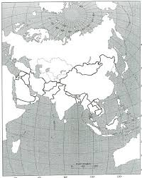 Europe Outline Map by Maps Blank Map Of Europe And Asia