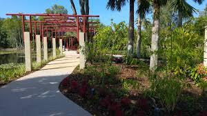Cairns Botanical Garden by Pergola Cairns Chinese Friendship Garden