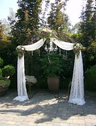 wedding arch lace wedding arch with chandelier for indoor search 02 21