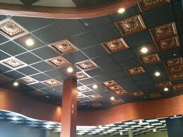 Lights For Drop Ceiling Tiles Interior Antique Decorative Ceiling Tiles Lowes With Golden Drop