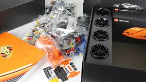 porsche instructions technic porsche 911 gt3 rs 42056 unboxing building