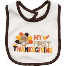 s my thanksgiving bib baby babies