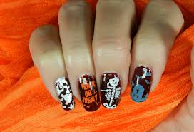 stamped nail design moyou london easy fun halloween design youtube