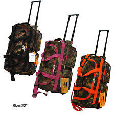 camouflage duffle bags with wheels rolling ebay