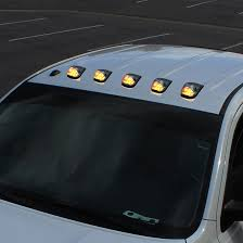 ford f250 cab lights kit 15 ford superduty f250 f550 amber led cab roof lights clear