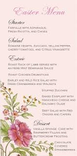 menu design for dinner party easter dinner party menu spring menu design it s what s for