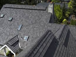 size of three car garage roof 5 the davinci multi width roof in mountain blend covers the