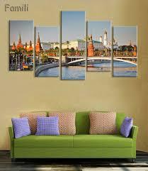 Peinture Moderne Pour Salon by Online Get Cheap Kremlin Peinture U0026agrave L U0026 39 Huile Aliexpress