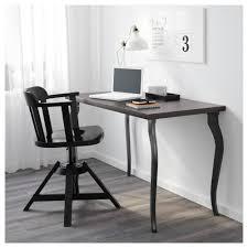 Sofa Desk Table by Linnmon Table Top Black Brown Ikea