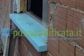 ponte termico davanzale il quarto lato inferiore controtelaio posaqualificata it