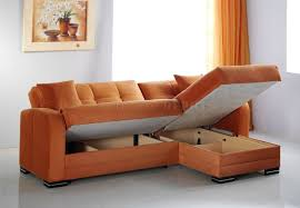 bedroom sectional couch bed terracotta tile wall decor table