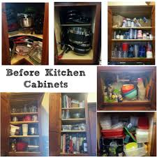 Organize Kitchen Cabinets - my organized kitchen cabinets 52 weeks to a more organized home
