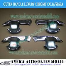 Daihatsu Sigra Trunk Lid Cover Chrome outer handle daihatsu sigra outer daihatsu sigra