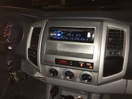 2005 2015 toyota tacoma stereo install pioneer deh x4800bt and