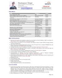 Database Administrator Resume Examples by Dba Resumes Resume Cv Cover Letter