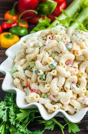 Homemade Pasta Salad by Homestyle Macaroni Salad