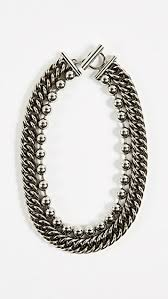 curb necklace images Alexander wang ball chain curb chain necklace shopbop jpg