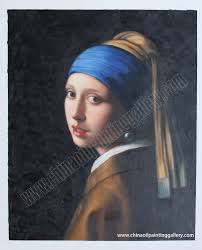 painting of the girl with the pearl earring girl with a pearl earring painting reproductions