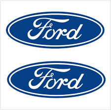 Vintage Ford Truck Decals - amazon com 2pcs ford logo decals stickers m1 4