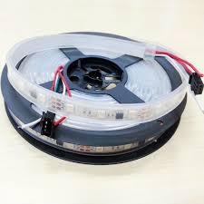 ft 12v programmable ws2811 rgb led light strip 5m 240 leds 80ics